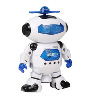 劲风炫舞者智能电动机器人动感玩具