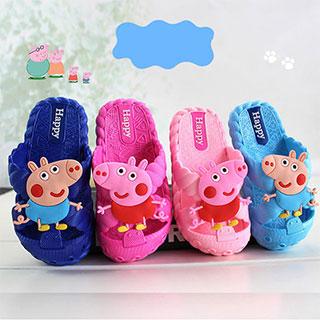 儿童卡通小猪佩奇夏季凉拖鞋