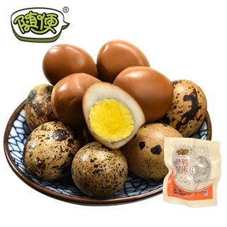 随便蒸卤鹌鹑蛋3枚*20包
