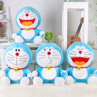 哆啦a梦公仔机器猫玩偶毛绒玩具