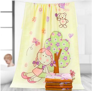 婴儿浴巾纯棉宝宝纱布加大毛巾被
