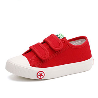 儿童帆布鞋男女童鞋布鞋休闲板鞋小白鞋