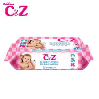 C&Z婴儿湿巾手口专用湿纸巾