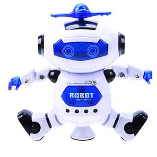 360度旋转劲风炫舞者智能唱歌跳舞机器人