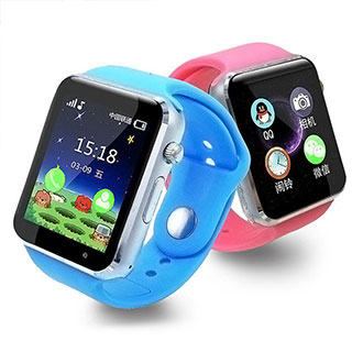 儿童定位手表可插卡打电话语音微聊第三代1.44寸触摸屏