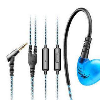 重低音跑步手机线控耳麦挂耳带运动耳塞耳机