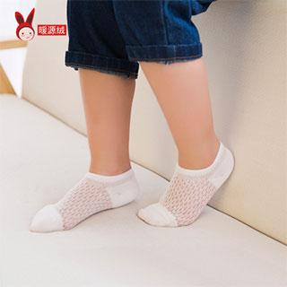 儿童袜子夏季网眼薄款纯棉5双