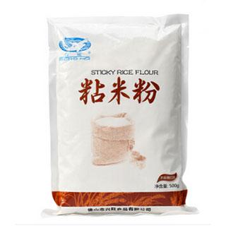 白鲨水磨粘米粉 大米籼米粉 萝卜糕冰皮月饼粉原装500g