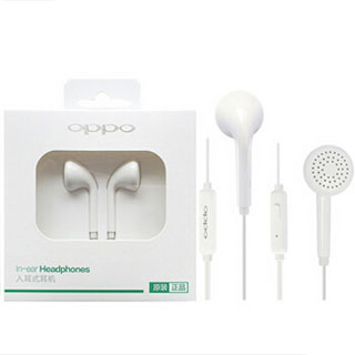 OPPO R9S原装手机线控耳机适用R9plus
