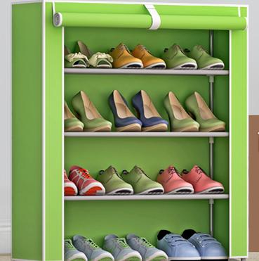 逸享 多层小鞋架 防尘组装鞋柜