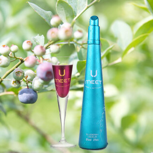 茅台悠蜜蓝莓酒《欢乐颂2》同款鸡尾酒