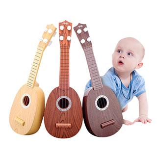 早教音乐尤克里里四弦彩色仿真吉他