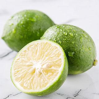 安岳新鲜青柠檬1斤装(单果70g-150g)