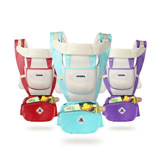 收纳功能横抱式四季通用多功能婴儿背带