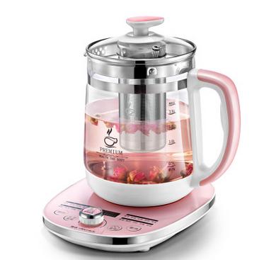 金正养生壶全自动加厚玻璃电热烧水多功能煮茶器