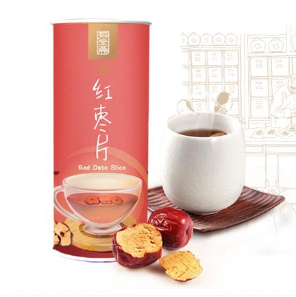 【京东超市】寿全斋 花草茶 红枣片 无核纸罐装 50g