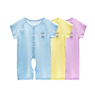 婴儿连体衣服纯棉