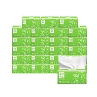 原木亲肤抽纸巾24包整箱