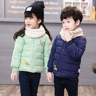 儿童羽绒棉服加厚保暖