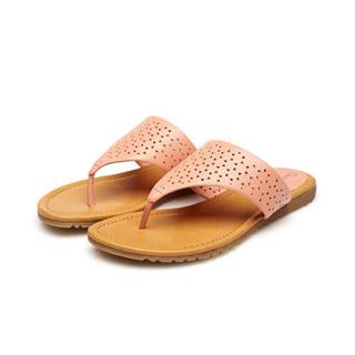 达芙妮正品夹脚拖鞋