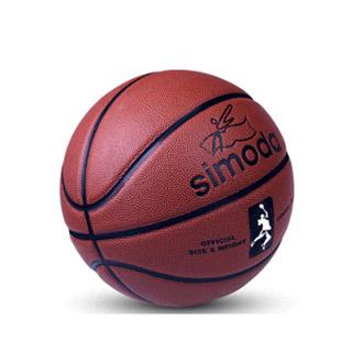 水泥地牛皮质感篮球