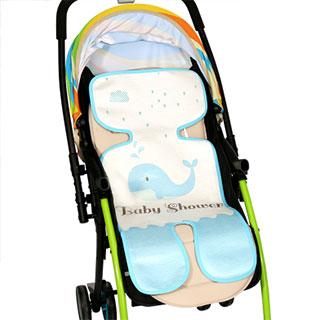婴儿推车透气凉席垫