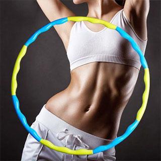 成人瘦腰收腹健身呼啦圈