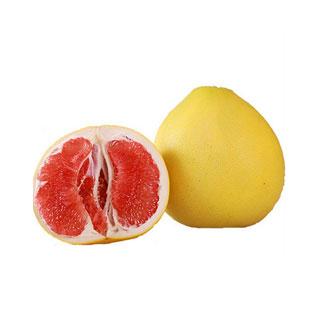 红肉红心柚子1个装2.5斤