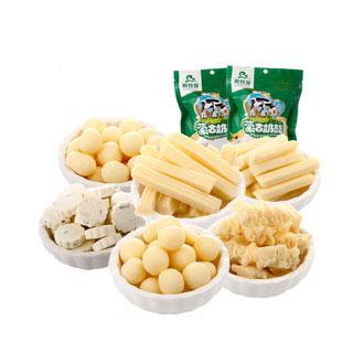 内蒙古特产奶酪条奶豆奶片