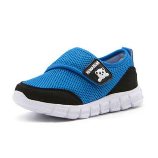透气网面儿童运动鞋
