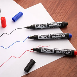 黑色大容量粗头记号笔