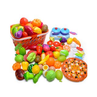 儿童蔬菜水果切切乐玩具