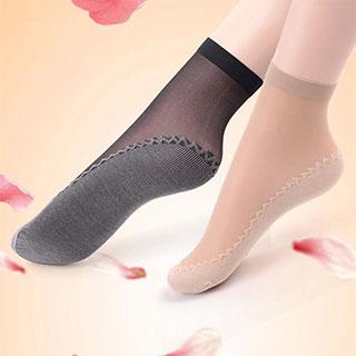 10双脚底加棉吸汗丝袜