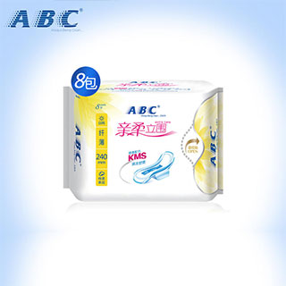 abc8包64片日用卫生巾