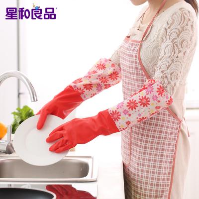 6双加厚防水家务洗碗手套