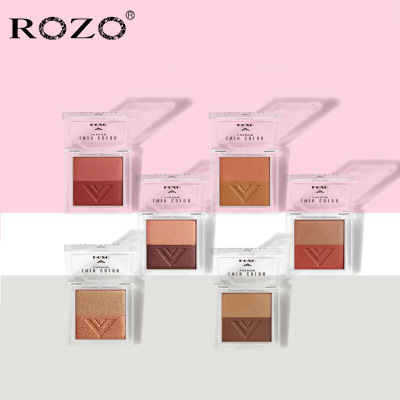 ROZO双色眼影盘哑光珠光