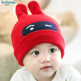 韩版婴儿帽子男女宝宝帽子