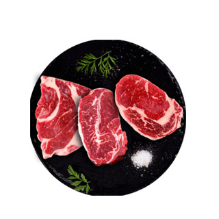 澳洲原肉整切牛排10片1500g
