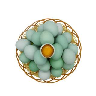 世鲜30枚绿壳鸡蛋