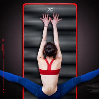 黑科技加厚瑜伽垫套装