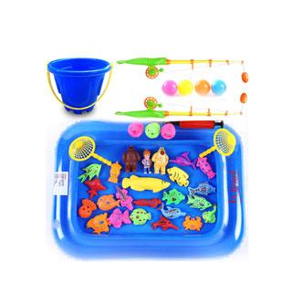 儿童小孩钓鱼磁性玩具
