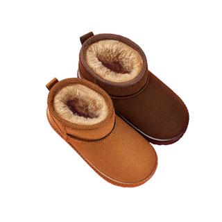 南极人冬季新款儿童雪地靴