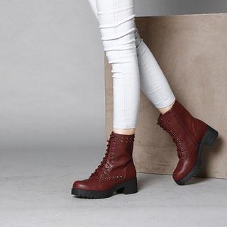 达芙妮秋冬季韩版短靴子