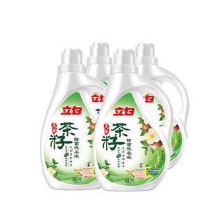 立白茶籽洗衣液12斤4瓶