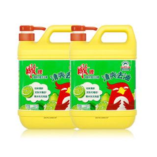 雕牌柠檬洗洁精1.228kg*2桶