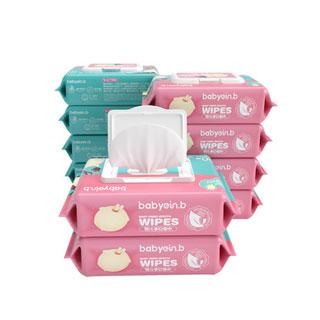 婴儿手口湿巾80抽*10包