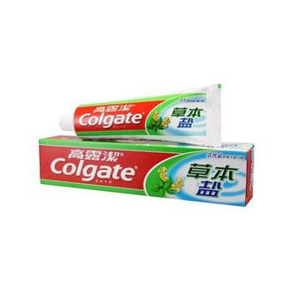 高露洁防蛀草本牙膏90g*3支