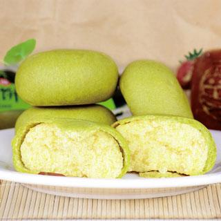 网红抹茶味绿豆饼1000g