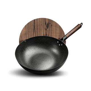 章丘铁锅手工老式铁锅
