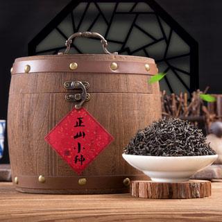正山小种一级红茶木桶礼盒